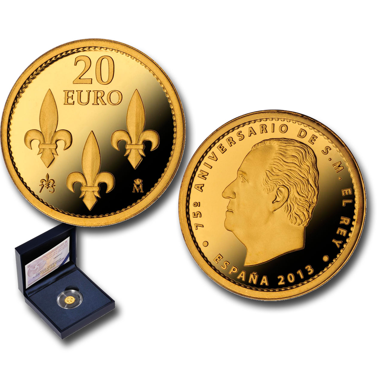 1/25th ounce gold coin. Click on image to see larger image. Abre en ventana nueva