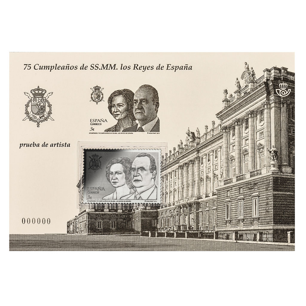 Silver stamp and souvenir stamp sheet. Click on image to see larger image. Abre en ventana nueva