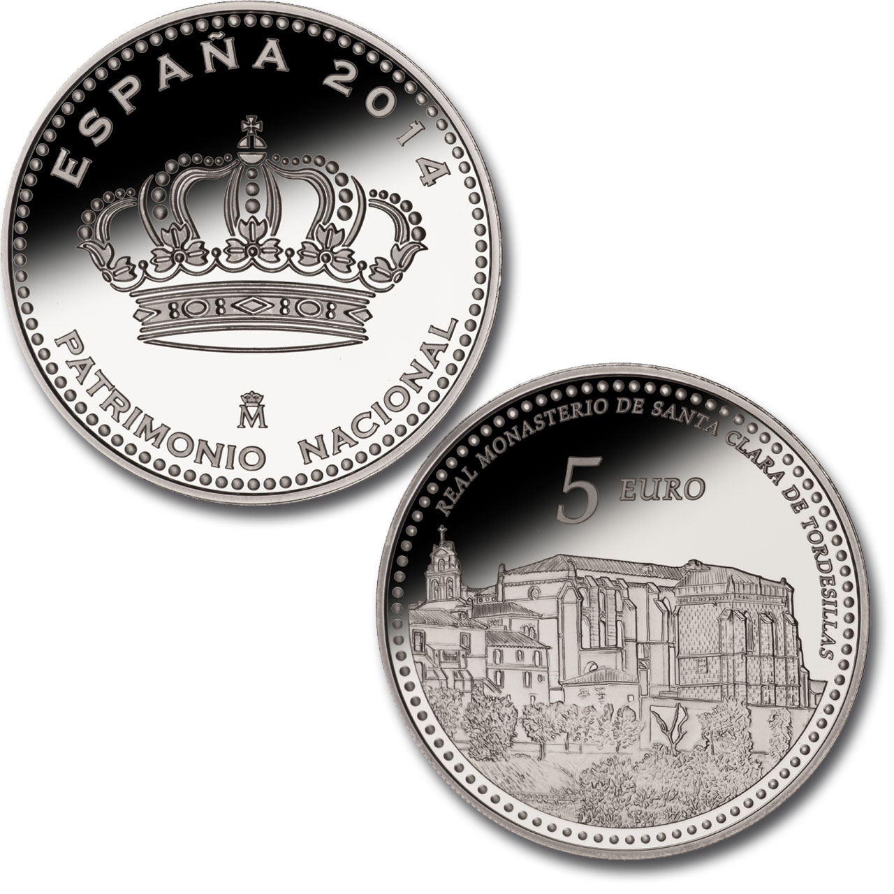 Royal Monastery of Santa Clara de Tordesillas – 4 reales silver. Click to see enlarged. Opens in new window. Abre en ventana nueva