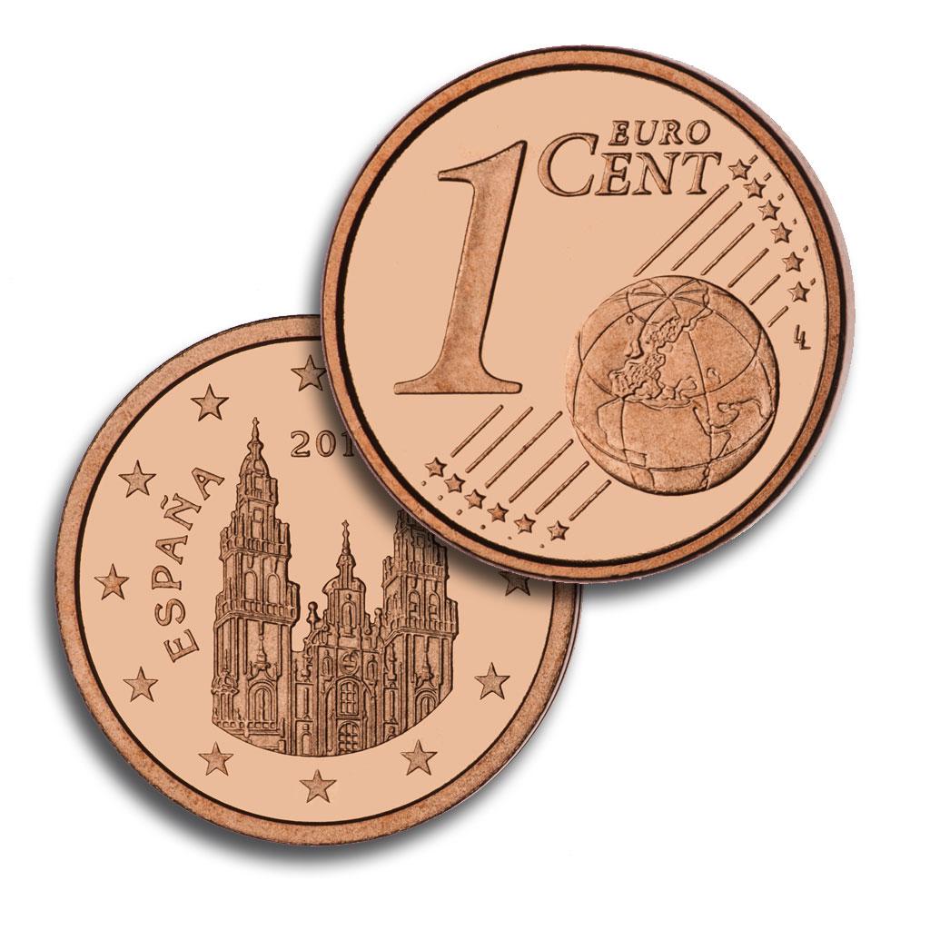 1 céntimo de Euro. Abre en ventana nueva