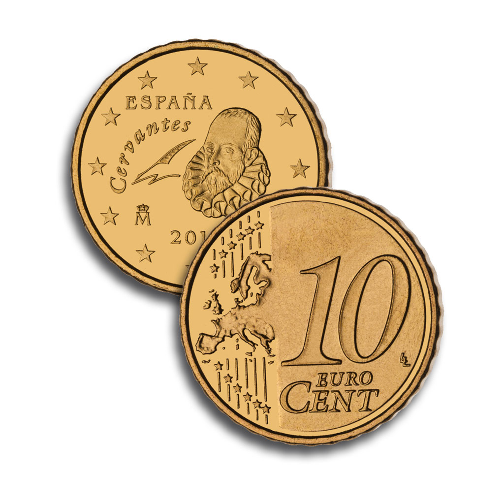 10 céntimo de Euro. Abre en ventana nueva