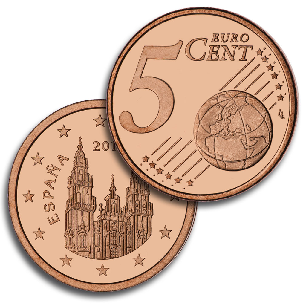 5 céntimo de Euro. Abre en ventana nueva