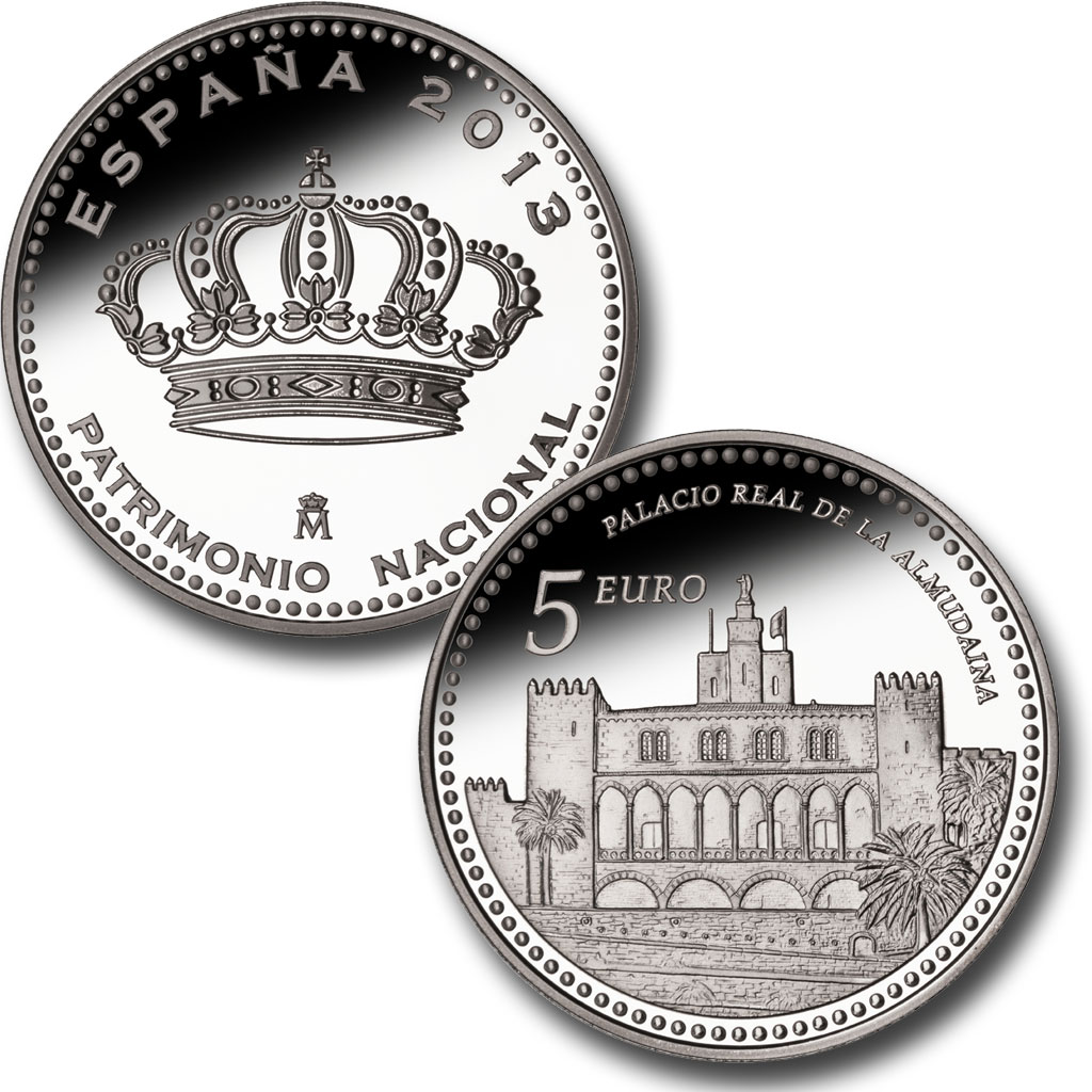 The Royal Palace of La Almudaina – 4 reales silver. Click on image to see larger image. Abre en ventana nueva