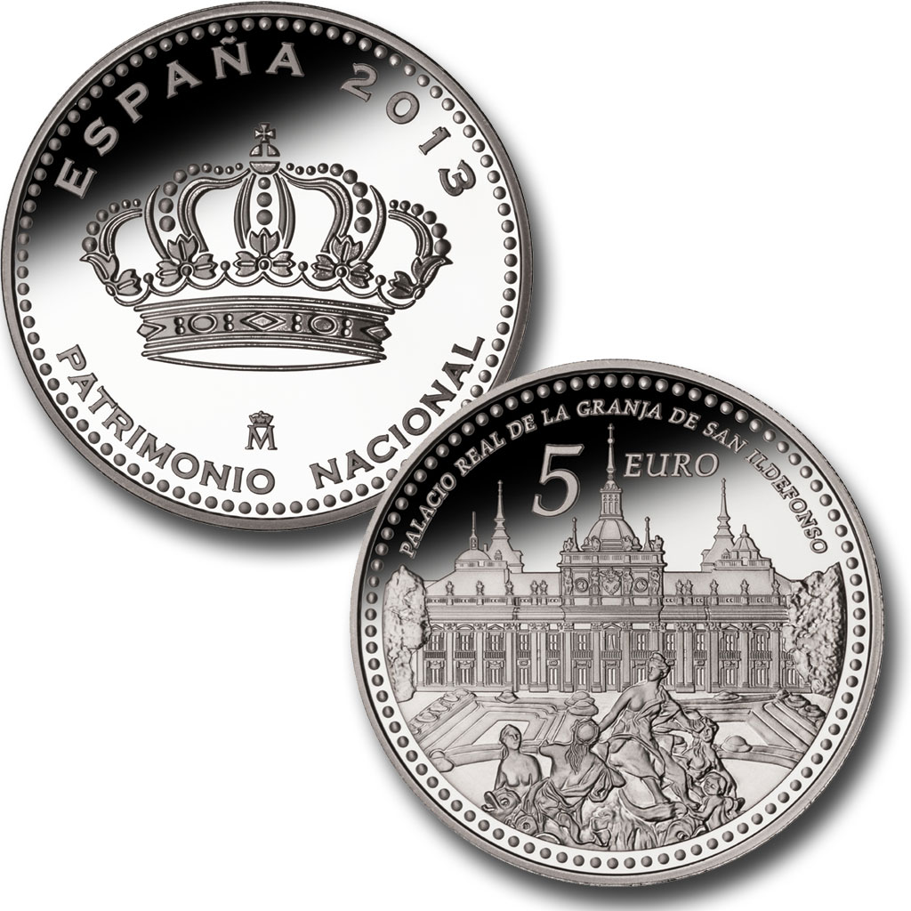 The Royal Palace of La Granja de San Ildefonso – 4 reales silver. Click on image to see larger image. Abre en ventana nueva