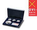 Silver set 4th Centenary of the publication of Don Quixote