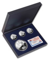 Silver set - Quincentenary of Christopher Columbus