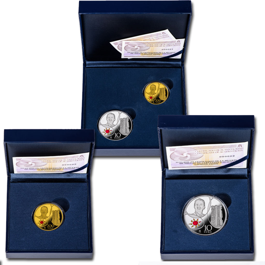 Collector coin cases. Click to see enlarged. Opens in new window. Abre en ventana nueva