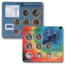 Blister Pack - The Euro Monetary System 2004. Abre en ventana nueva